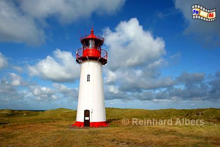 Sylt Ellenbogen List West, Leuchtturm, Lighthouse, Ellenbogen, Sylt, List West, foreal, Albers