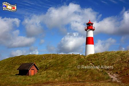 Sylt Ellenbogen - List Ost, Leuchtturm, Lighthouse, Ellenbogen, Sylt, List, Ost, foreal, Albers