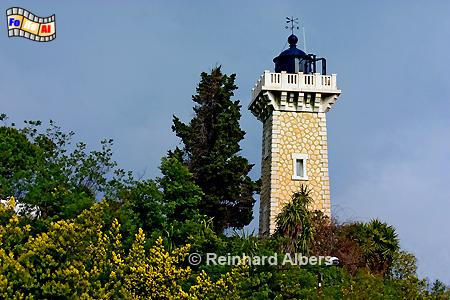 Vallauris an der Côte d Azur., Leuchtturm, Frankreich, Provence, Vallauris, Foto, foreal, Albers, Phare
