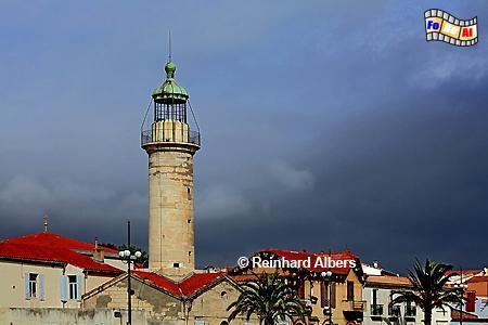 Le-Grau-du Roi in der Camargue, Leuchtturm, Frankreich, Provence, Camargue, Le Grau-du-Roi, Phare, Foto, Albers, foreal,