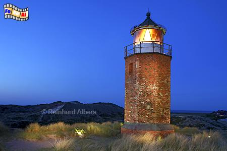 Insel Sylt - Kampen Quermarkenfeuer, Leuchtturm, Lighthouse, Phare, Farol, Sylt, Kampen, foreal, Albers, Foto,