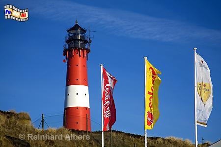 Insel Sylt - Hörnum, Leuchtturm, Lighthouse, Phare, Sylt, Hörnum, foreal, Albers, Foto,