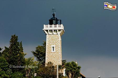 Vallauris an der Côte d Azur., Leuchtturm, Frankreich, Provence, Vallauris
