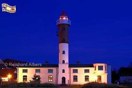 Timmendorf auf der Insel Poel in Mecklenburg-Vorpommern., Leuchtturm, Lighthouse, Phare, Latarnia Morska, Poel, Timmendorf, Mecklenburg, foreal, Albers, Foto,