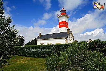 Penlan in der Bretagne., Leuchtturm, Lighthouse, Phare, Bretagne, Penlan, foreal, Albers, Foto,