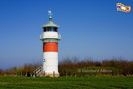 Im Südossten der Insel Alsen (Als) in Dänemark steht der Leuchtturm Gammel Pøl, Dänemark, Gammel, Pøl, Insel Alsen, Als, Pølshuk, Leuchtturm, foreal, Albers, Phare, Lighthouse,