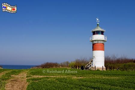 Im Südosten der Insel Alsen (Als) in Dänemark steht der Leuchtturm von Gammel Pøl., Dänemark, Gammel, Pøl, Insel Alsen, Als, Pølshuk, Leuchtturm, foreal, Albers, Phare, Lighthouse,