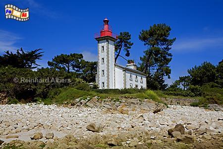 Bretagne - Pointe de Combrit, Leuchtturm, Lighthouse, Phare, Bretagne, Combrit, Albers, Foto, foreal,