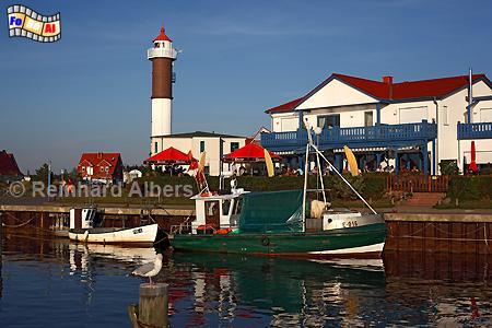 Timmendorf auf der Insel Poel in Mecklenburg-Vorpommern., Leuchtturm, Poel, Timmendorf, Lighthouse, Phare, foreal, Albers, Foto,