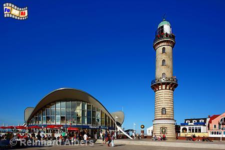 Warnemünde in Mecklenburg-Vorpommern., Leuchtturm, Lighthouse, Phare, Warnemünde, Warnow, Mecklenburg, Albers, Foto, foreal,