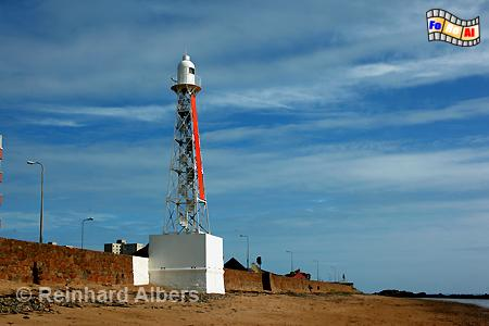 Jersey - Grève d Arzette, Leuchtturm, Lighthouse, Phare, Arzette, Grève, Jersey, Kanalinsel, foreal, Albers, Foto,