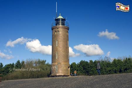 St. Peter-Ording, Ortsteil Böhl auf der Halbinsel Eiderstedt., Leuchtturm, Phare, Lighthouse, Nordseeküste, St. Peter, Böhl, Ordning, Albers, Foto, foreal,