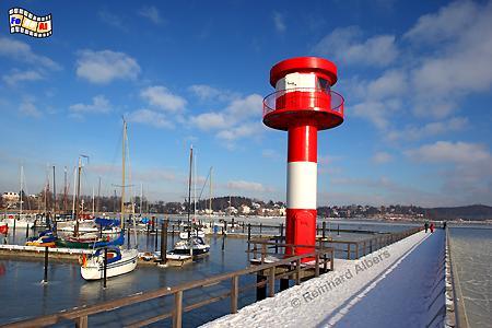Der neue Leuchtturm im Hafen von Eckernförde., Leuchtturm, Lighthouse, Phare, Eckernförde, Ostsee, Foto, Albers, foreal,