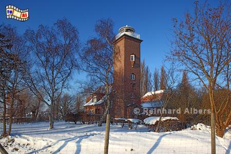 Pelzerhaken im Winter., Leuchtturm, Lighthouse, Phare, Pelzerhaken, Ostseeküste, foreal, Albers, Foto,