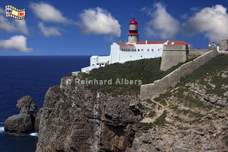 Cabo São Vicente, Portugal, Algarve, Leuchtturm, Portugal, Algarve, Vicente, Albers, Foto, foreal, Farol,