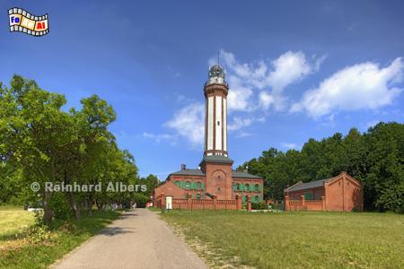 Polen - Niechorze (Großhorst), Leuchtturm, Polen, Latarnia, Pommern, Ostseeküste, Niechorze, Groß-Horst, Albers, Foto, foreal,