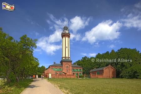 Polen - Niechorze (Groß-Horst)., Leuchtturm, Polen, Latarnia, Pommern, Ostseeküste, Niechorze, Groß-Horst, Albers, Foto, foreal,