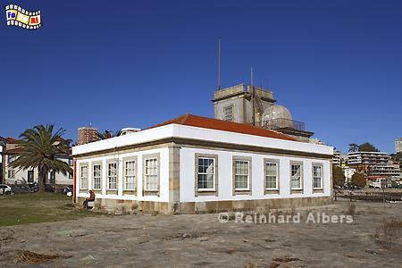Der älteste noch existierende Leuchtturm Portugals aus dem Jahr 1527, in Betrieb bis 1882., Portugal, Porto, Douro, Leuchtturm, Farol, Phare, Albers, Foto, foreal,