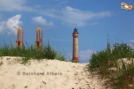 Polen - Świnoujście (Swinemünde)., Leuchtturm, Lighthouse, Phare, Polen, Ostseeküste, Swinemünde, Foto, Albers, foreal, Latarnia, Świnoujście,