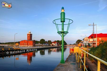 Polen - Darłówko, (Rügenwaldermünde), Leuchtturm, Polen, Pommern, Ostseeküste, Darlowo, Darlowko, Rügenwaldermünde, Latarnia,