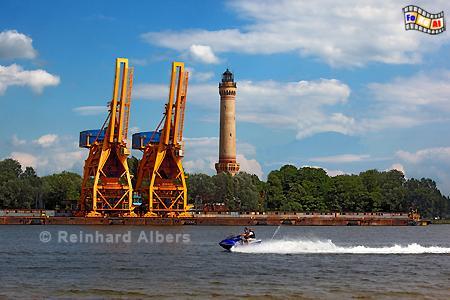 Polen - Świnoujście (Swinemünde). Der 1858 erbaute Leuchtturm hat eine Höhe von 68 m., Leuchtturm, Lighthouse, Phare, Latarnia Morska, Polen, Ostseeküste, Swinemünde, Foto, Albers, foreal, Latarnia, Świnoujście,