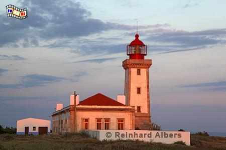 Abendstimmung beim Leuchtturm Alfanzina in der Algarve (Portugal)., Leuchtturm, Portugal, Algarve, Carvoeiro, Alfanzina, Albers, foreal, Foto,