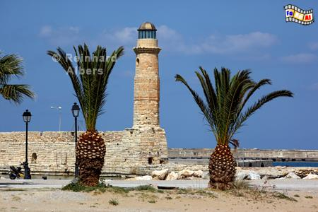 Kreta - Rethimnon, Leuchtturm, Lighthouse, Kreta, Rethimnon, foreal, Albers, Foto,