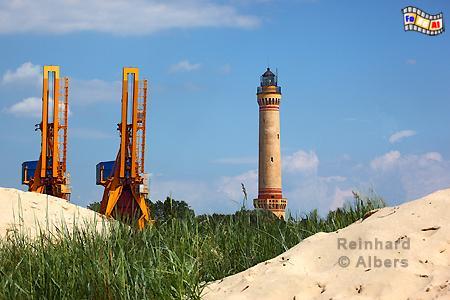 Świnoujście (Swinemünde) Polen. Der 1858 erbaute Leuchtturm hat eine Höhe von 68 m., Leuchtturm, Lighthouse, Phare, Latarnia Morska, Polen, Ostseeküste, Swinemünde, Foto, Albers, foreal, Świnoujście,