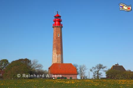Flügge auf der Insel Fehmarn., Leuchtturm, Schleswig-Holstein, Fehmarn, Insel, Flügge, Albers, Foto, foreal, Ostseeküste,