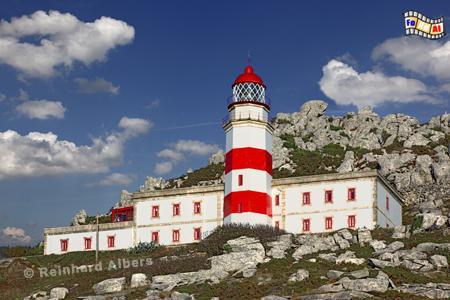 Spanien - Cabo Silleiro in Galicien., Leuchtturm, Spanien, Galicien, Silleiro, Albers, foreal, Foto,