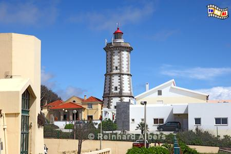 Portugal - Leuchtturm Guia an der Ponta da Láje., Leuchtturm, Portugal, Ponta da Laje, Guia, Farol, Albers, Foto, foreal,