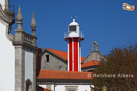 Viana do Castelo in Nordportugal., Leuchtturm, Portugal, Viana do Castelo, Farol, Albers, Foto, foreal,