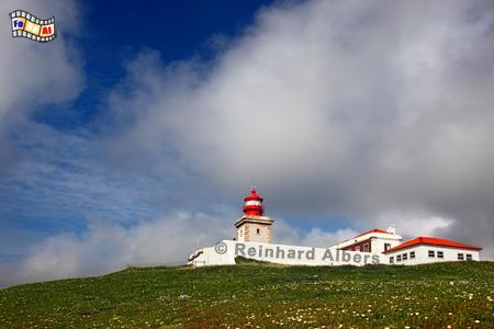 Portugal - Cabo da Roca, Leuchtturm, Portugal, Cabo da Roca, Farol, Albers, foreal, Foto,