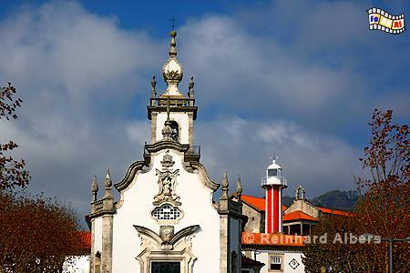 Nordportugal - Viana do Castelo, Leuchtturm, Portugal, Viana do Castelo, Farol, Albers, Foto, foreal,