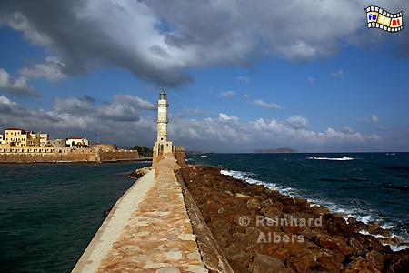 Kreta - Chania, Leuchtturm, Lighthouse, Kreta, Chania, foreal, Albers,