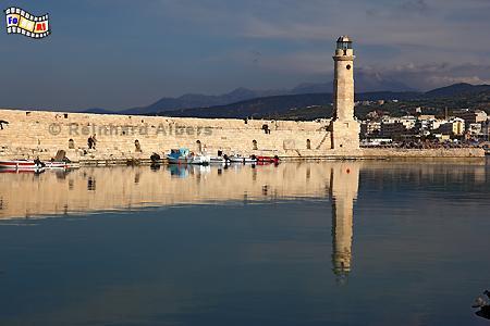 Kreta - Rethimnon, Leuchtturm, Lighthouse, Kreta, Rethimnon, foreal, Albers, Foto