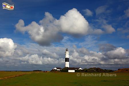Leuchtturm von Kampen auf der Insel Sylt., Leuchtturm, Lighthouse, Phare, Kampen, Sylt, foreal, Albers, Foto,
