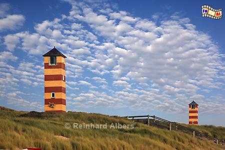 Niederlande - Kaapduinen Unter- und Oberfeuer, Niederlande, Holland, Leuchtturm, Lighthouse, Phare, Kaapduinen, Albers, Foto, foreal,