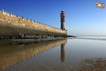 Frankreich: Dunkerque (Dünkirchen) Mole., Leuchtturm, Phare, Lighthouse, Latarnia Morska, Dunkerque, Dünkirchen, Frankreich, Albers, Foto, foreal,