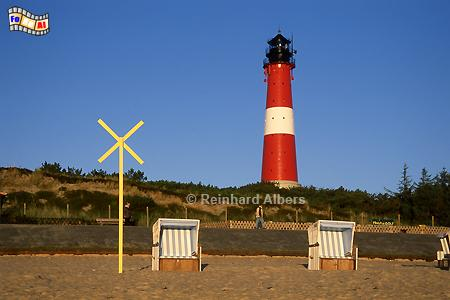 Morgenstimmung am Leuchtturm von Hörnum., Leuchtturm, Lighthouse, Phare, Sylt, Hörnum, foreal, Albers, Foto,