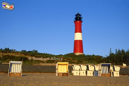 Hörnum auf der Insel Sylt., Leuchtturm, Lighthouse, Phare, Sylt, Hörnum, foreal, Albers, Foto,