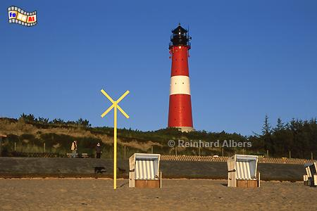 Morgenstimmung beim Leuchtturm von Hörnum., Leuchtturm, Lighthouse, Phare, Sylt, Hörnum, foreal, Albers, Foto,