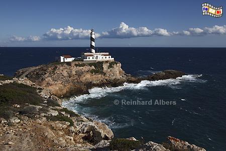 Mallorca - Cap de Cala Figuera, Leuchtturm, Lighthouse, Phare, Far, Mallorca, Figuera, Foto, Albers, foreal,