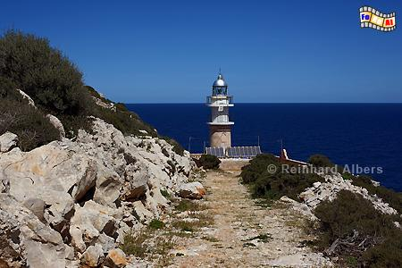 Far de Tramuntana auf der Insel Sa Dragonera bei Mallorca., Leuchtturm, Lighthouse, Phare, Far, Mallorca, Dragonera, Tramuntana, Foto, Albers, foreal,