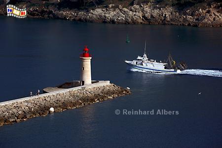 Mallorca - Hafen von Andratx, Leuchtturm, Lighthouse, Phare, Far, Mallorca, Andratx, Foto, Albers, foreal,