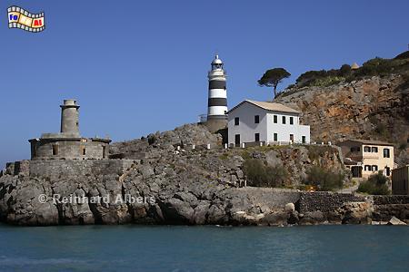Mallorca - Punta de Sa Creu, Port de Sóller., Leuchtturm, Lighthouse, Phare, Far, Mallorca, Port, Soller, Foto, Albers, foreal,