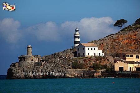 Mallorca - Punta de Sa Creu, Port de Sóller, Leuchtturm, Lighthouse, Phare, Far, Mallorca, Port, Soller, Foto, Albers, foreal,