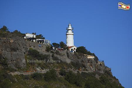 Mallorca - Cap Gros, Leuchtturm, Lighthouse, Phare, Far, Mallorca, Cap, Gros, Foto, Albers, foreal,
