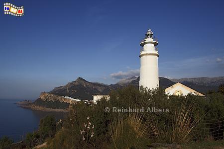 Mallorca - Cap Gros, Leuchtturm, Lighthouse, Phare, Far, Mallorca, Gros, Cap, Foto, Albers, foreal,