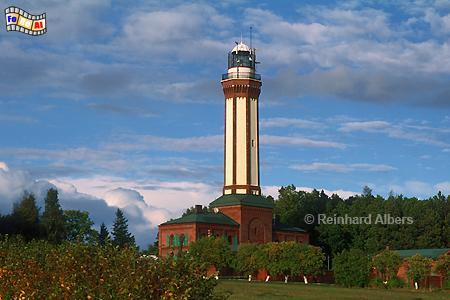 Niechorze (Großhorst) an der Ostseeküste in Polen., Leuchtturm, Polen, Pommern, Ostseeküste, Niechorze, Groß-Horst, Albers, Foto, foreal,